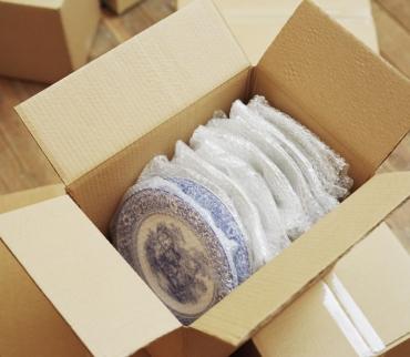 Privatumzug Geschirr richtig verpacken