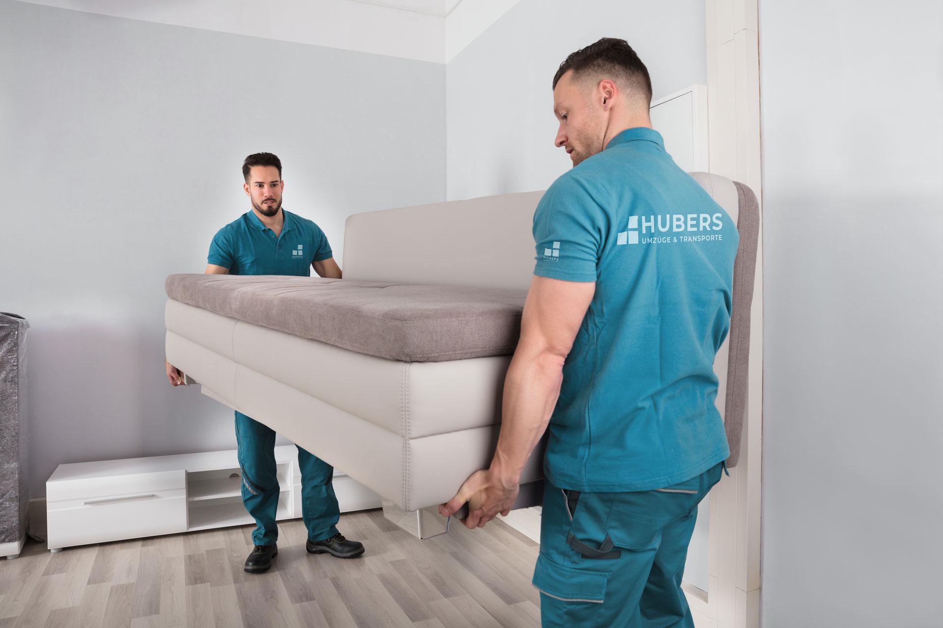 HUBERS, Ihr Umzugsunternehmen in Bottrop